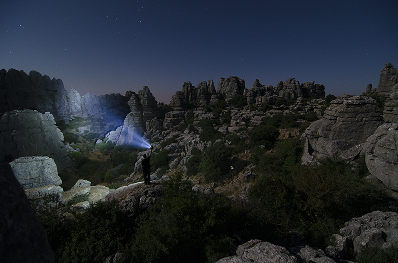 Torcal nocturna