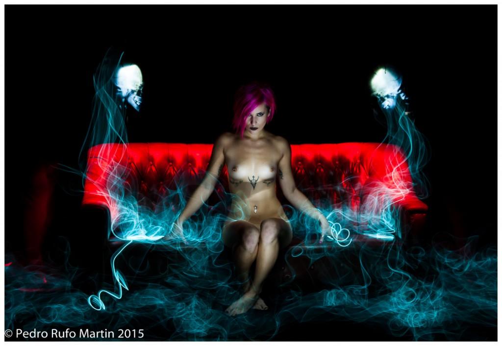 Brenda - LightPainting